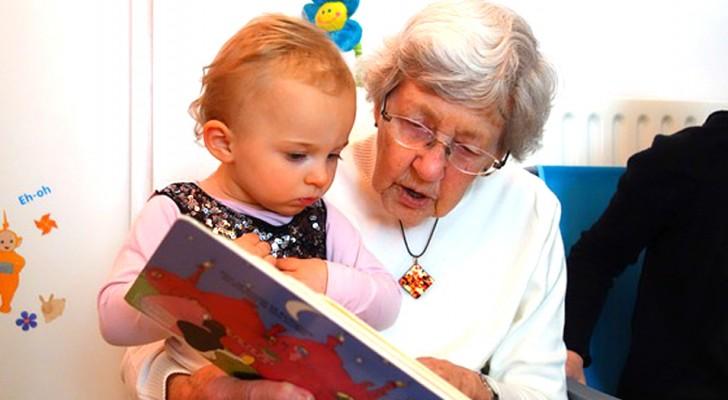 I nonni che si occupano dei nipoti vivono più a lungo: la scienza lo conferma