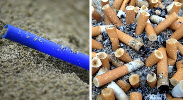 Les mégots de cigarettes polluent plus que les pailles en plastique : ce sont les déchets les plus répandus dans le monde