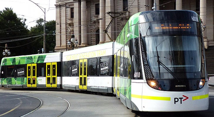 La rivoluzione verde di Melbourne: l'intera rete di tram si alimenta grazie all'energia solare