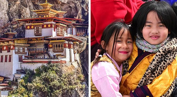 Buthan ist kein reiches Land, aber es gilt als eines der glücklichsten der Welt: Hier sind die Gründe dafür