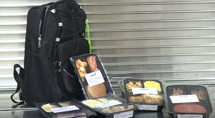 In questa scuola il cibo non servito a mensa viene impacchettato e donato agli alunni bisognosi