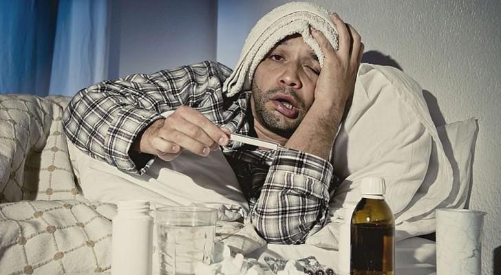Secondo questa ricerca, gli uomini non esagerano quando hanno l'influenza: soffrono DAVVERO di più!