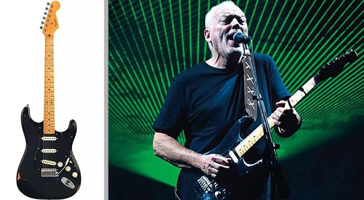David Gilmour dei Pink Floyd vende le sue chitarre per oltre 20 milioni e li dona per salvare il Pianeta