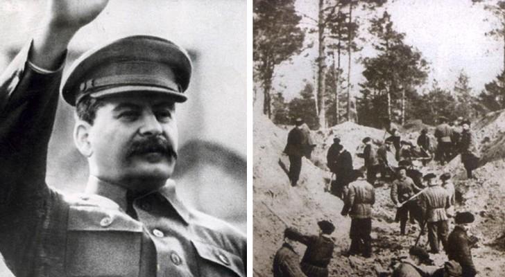 Het regime van Stalin vermoordde 22.000 mensen in het Bloedbad van Katyn en wist de nazi's de schuld te geven