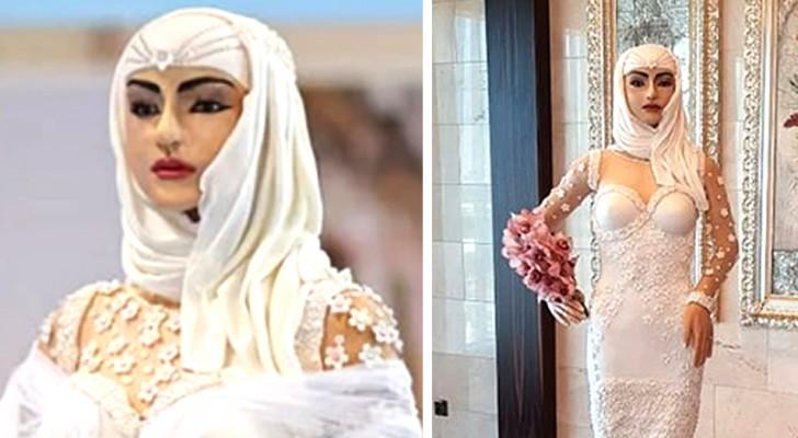 Deze vrouw heeft de duurste bruidstaart gemaakt ter wereld, een waar kunstwerk van een miljoen dollar