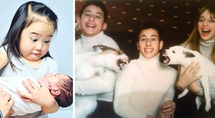 Estas 20 fotos divertidas demuestran que tener hermanos puede ser que sea más una bendición que una pesadilla