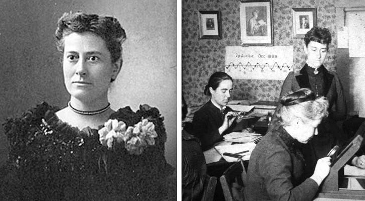 Die Geschichte von Williamina Fleming, der Kellnerin, die die Sternbilder entdeckt und das Universum kartiert hat