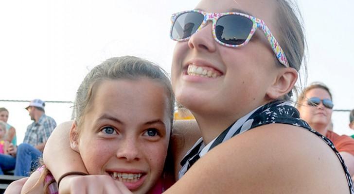 Le sorelle sono molto più che amiche per la pelle, sono due corpi e un'anima