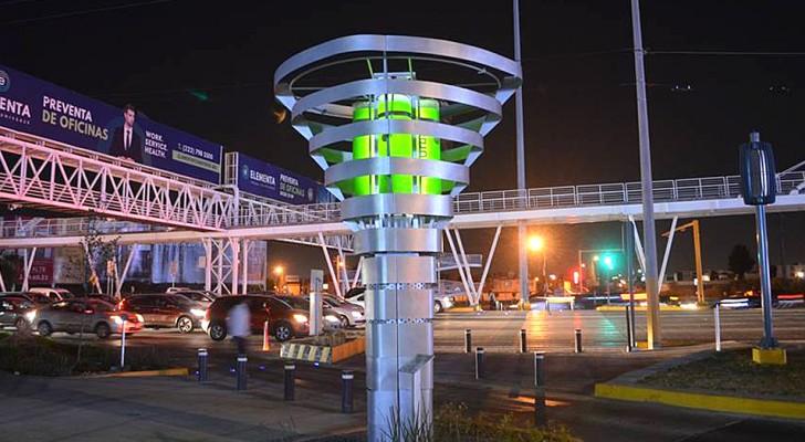 Cette tour spéciale filtre l'air pollué et crée de l'oxygène : l'idée d'une start-up pour sauver nos villes