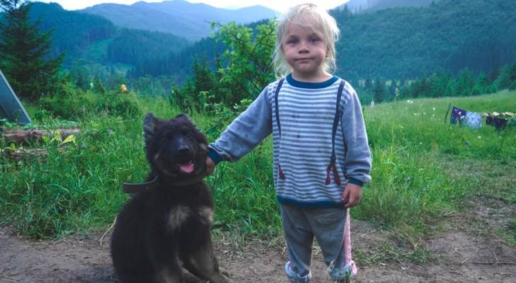 Haustiere helfen Kindern, Stress abzubauen und glücklicher zu sein