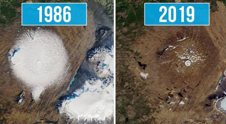 Afscheid van de eerste gletsjer in IJsland: een gedenkplaat zet ons aan het denken over de milieuramp