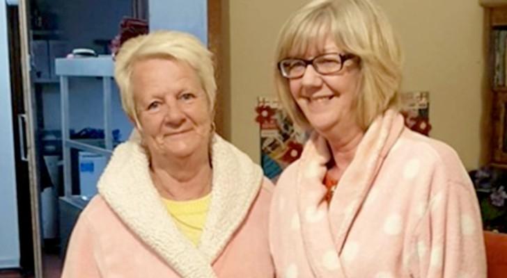 En esta residencia de ancianos el personal se pone los pijamas para hacer sentir en casa a los ancianos