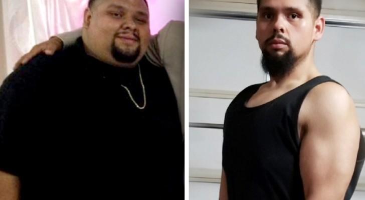Este joven ha adelgazado 80 kg para poder donar el riñón y salvar la vida a la hermana menor