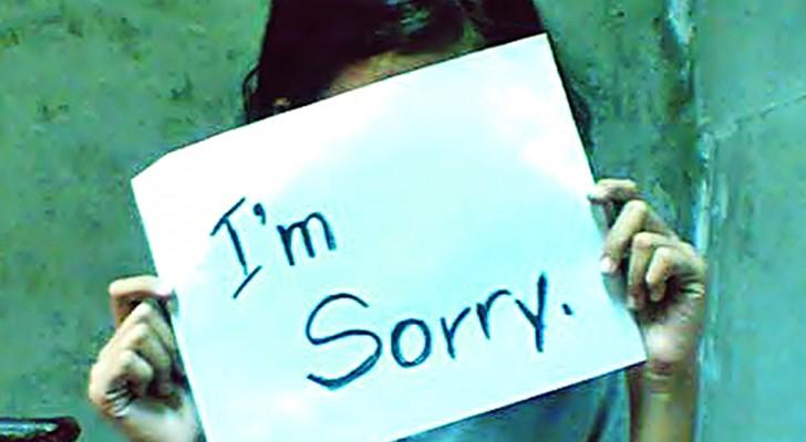 Att erkänna sina misstag är svårt och därför klarar vissa människor inte att göra det