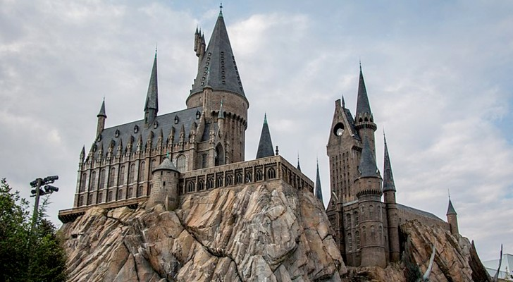 Questi nonni hanno fatto costruire il castello di Harry Potter nel giardino del nipote di 2 anni