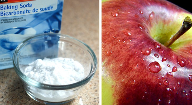 Here is how to use baking soda to eliminate up to 96% of pesticides found on fresh fruit!