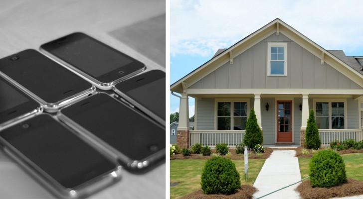 20 vriendjes en 20 iPhones: zo is het deze vrouw gelukt om een huis voor zichzelf te kopen