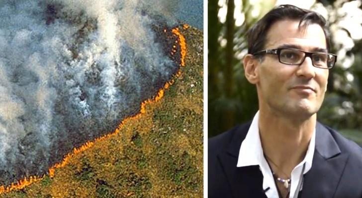 Ecco la proposta di un ingegnere italiano per salvare l'Amazzonia e rigenerare i terreni bruciati