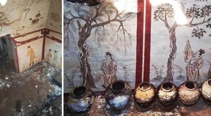 Scoperta casualmente in Cina una tomba risalente al periodo della dinastia medievale dei Tang