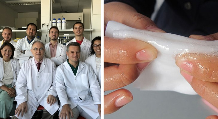 Pelle artificiale pronta all'uso: un team di ricercatori pone un nuovo traguardo nella cura delle grandi ustioni