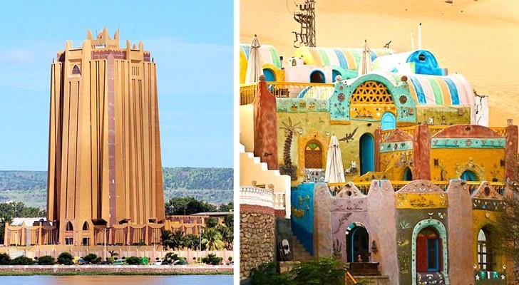 Afrikanische Architektur wird oft unterschätzt: Hier sind 16 Beispiele, die das Gegenteil zeigen