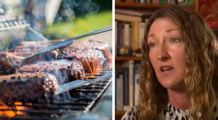 Uma mulher vegana entra na justiça contra os vizinhos que faziam muitos churrascos