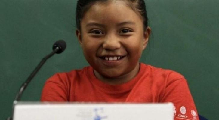 Una bambina di 8 anni inventa uno scaldabagno ad energia solare e vince un premio in scienze nucleari