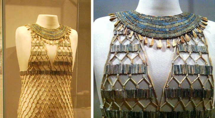 L'abito di perline: lo splendido indumento dell'Antico Egitto di cui ancora ignoriamo l'esatta funzione