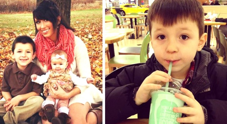 Deze 6-jarige jongen nodigt zijn moeder elke maand uit om te gaan uit eten en betaalt met zijn spaargeld