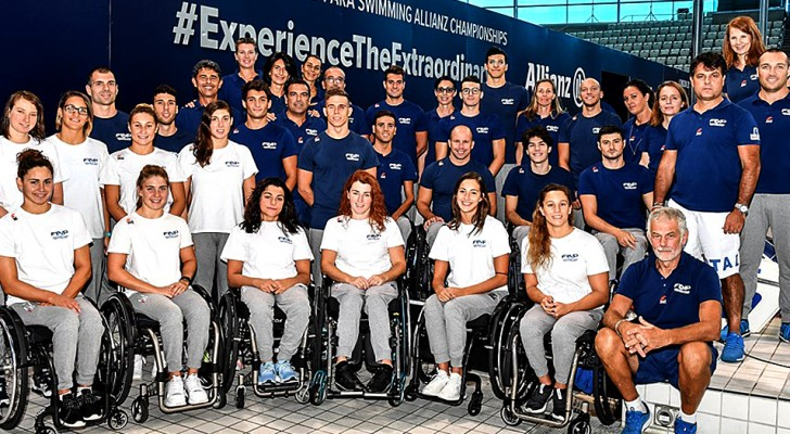 Italia da record ai Mondiali di nuoto paralimpico: 50 medaglie conquistate e prima vittoria nella storia