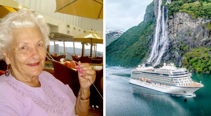À 74 ans, elle vend sa maison et décide de vivre sur un bateau de croisière pour le restant de ses jours