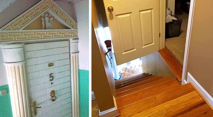 Huiveringwekkende renovaties: 17 foto's van huizen waar je nooit zou willen wonen