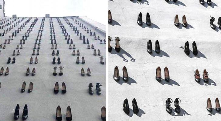 Istanbul: l'impressionante memorialeche ricorda le 440 donne vittime diviolenza domestica nel 2018