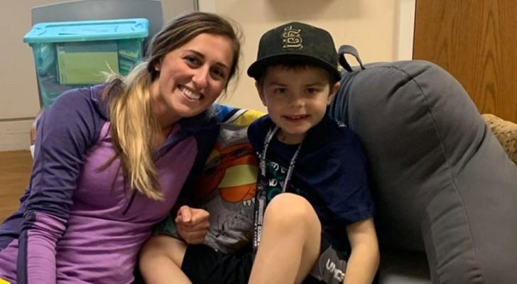 Den här sjuksköterskan donerade en del av sin lever för att rädda sin 8-åriga patient