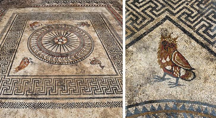 Questo affascinante mosaico scoperto in Francia proverebbe l'esistenza di un'antica città perduta