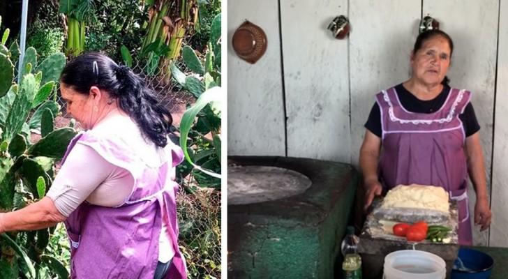 Diese Großmutter gewann über Tausende von Followern mit Videos ihrer selbstgemachten Rezepte