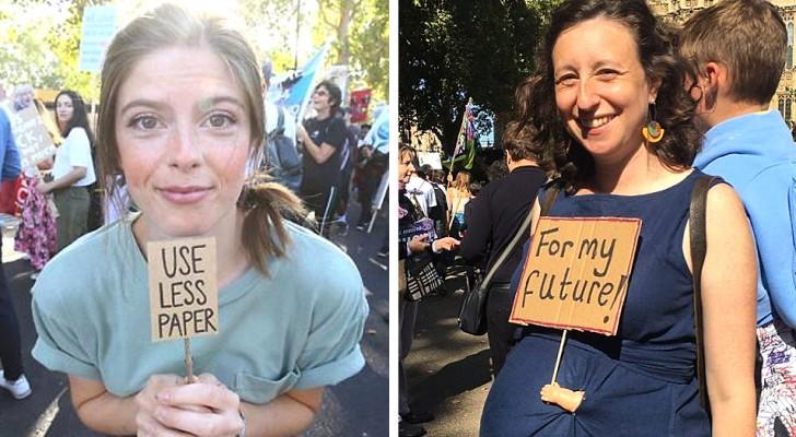 Les 15 affiches avec les phrases les plus amusantes et ironiques contre le changement climatique