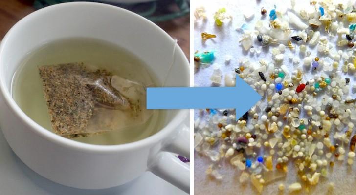 Eine wissenschaftliche Studie hat das Vorhandensein von Mikrokunststoffen in einigen Teebeuteln entdeckt