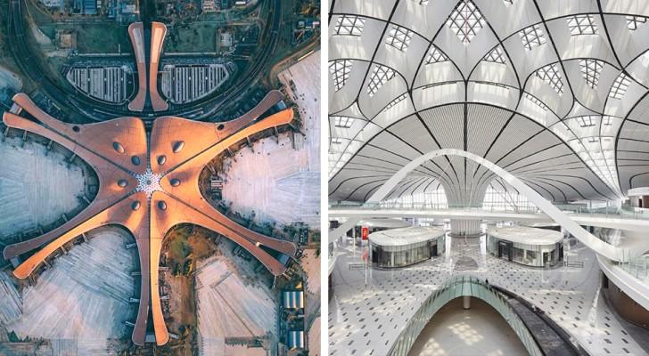 A Pechino l'aeroporto con il terminal più grande del mondo: un'opera magnifica di design e praticità