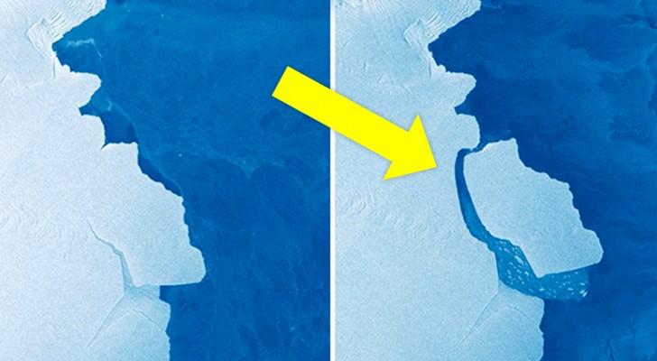 Un iceberg de 1 636 kilomètres carrés s'est détaché de l'Antarctique oriental