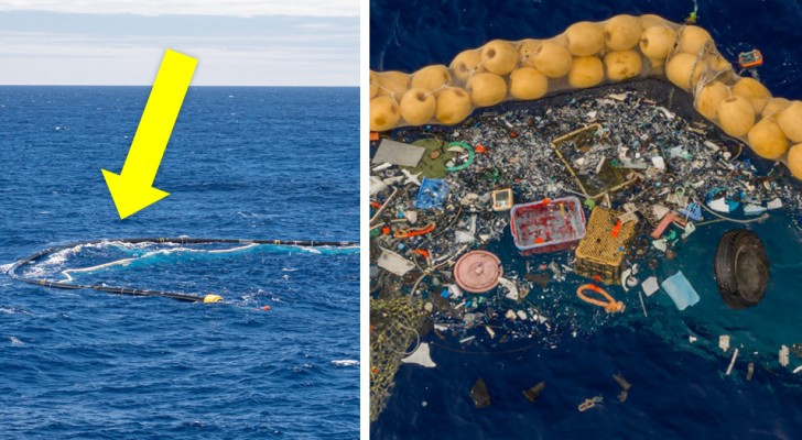 The Ocean CleanUp: il sistema cattura-plastica è finalmente in funzione e ha iniziato a ripulire gli Oceani