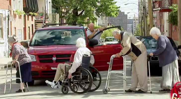 Que feriez-vous si une telle situation se présentait à vous dans la rue?