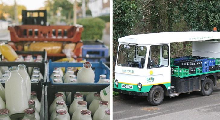 Pour réduire la consommation de plastique, Londres revient à la livraison du lait en bouteilles de verre