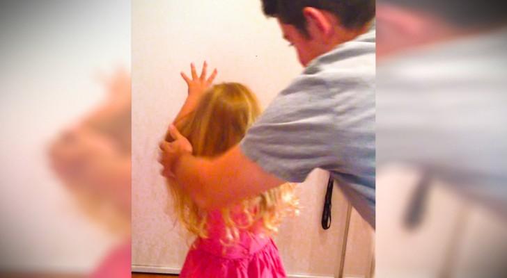 L'astuce infaillible du papa pour faire une queue parfaite à sa petite poupée
