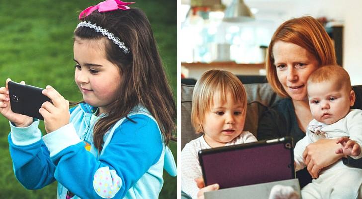 Acalmar uma criança com o celular ou tablet não o ajuda a se tranquilizar: palavra de psicólogos