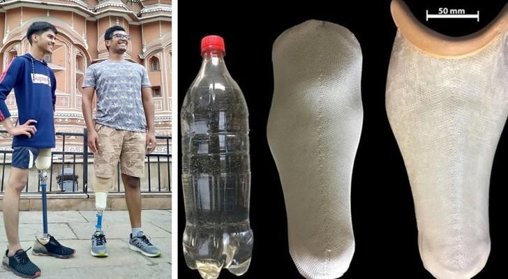 Questi ricercatori riutilizzano la plastica monouso per produrre protesi robuste e a basso costo