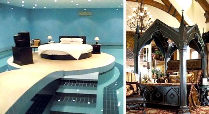 11 originelle Betten, die Sie entweder friedlich einschlafen oder unruhig schlafen lassen