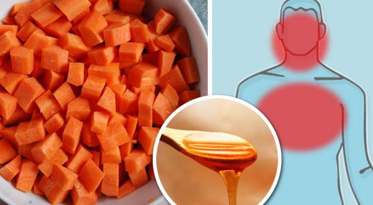 Sciroppo di carote, limone e miele: come preparare un toccasana naturale contro i sintomi dell'influenza