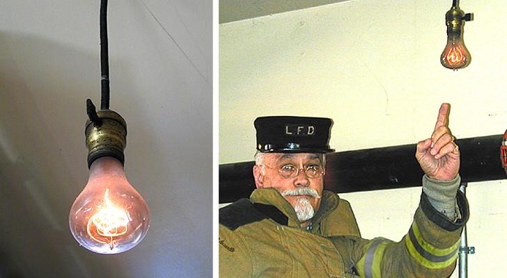 La plus vieille ampoule du monde se trouve en Californie : elle est allumée depuis près de 120 ans