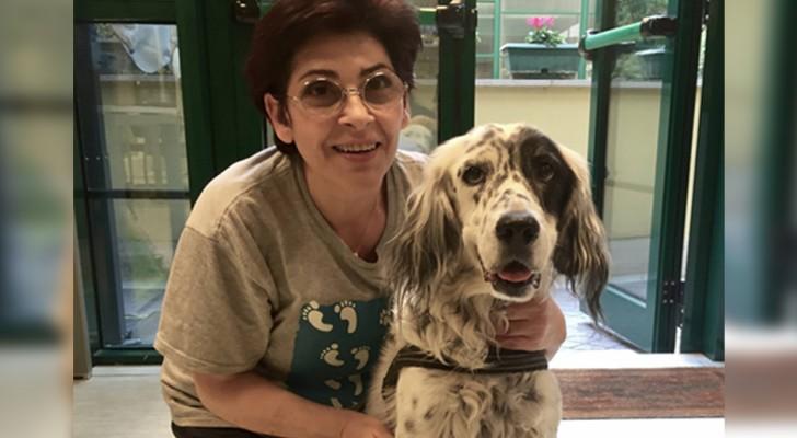 Per la prima volta in Italia, una dipendente pubblica ottiene un permesso retribuito per assistere il cane malato